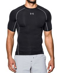 Under Armour HG Compression - T-shirt - Svart (1257468-001)