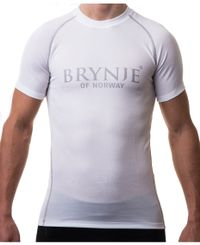 Brynje Sprint Light - T-shirt - Vit (10800200WH)