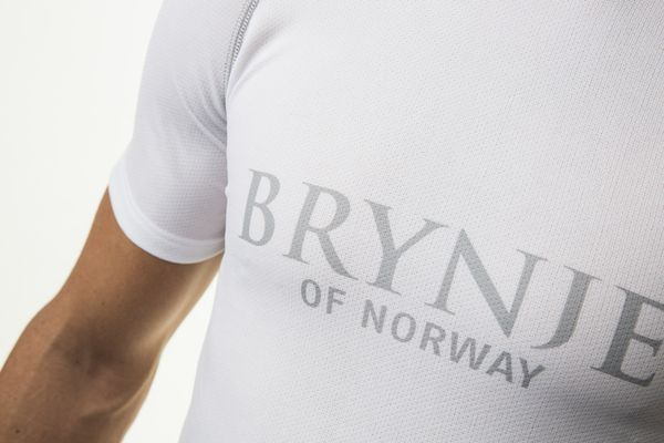 Brynje Sprint Light - T-shirt - Vit (10800200WH48)
