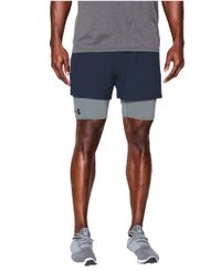 Under Armour 2-in-1 Trainer - Shorts - Marinblå