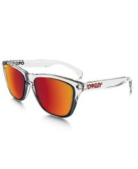 Oakley Frogskins Clear - Solglasögon - Torch Iridium
