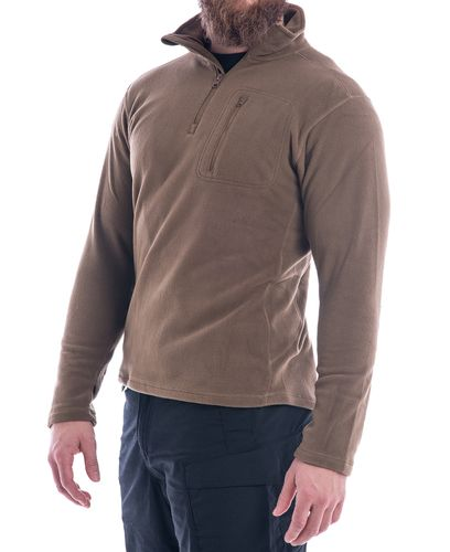 Condor Fleece Pullover 1/4 Zip - Tröja - Coyote (607-003)