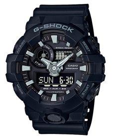 G-Shock GA-700 - Klockor - Svart