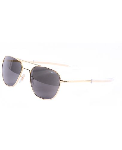 American Optical Original Pilot Gold - Solglasögon - Polarized grey (OP55G.BA.TCP)