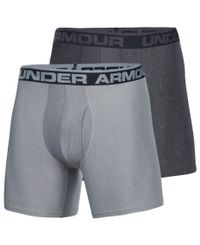Under Armour O-Series 6'' 2-Pack - Boxershorts - Svart