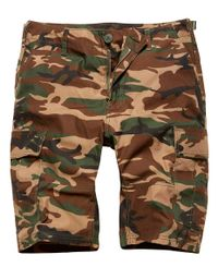 Vintage Industries BDU T/C - Shorts - Woodland (VI1233-WO)