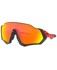 Oakley Flight Jacket Redline Polarized - Sportglasögon - Prizm Ruby