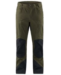 Haglöfs Rugged Mountain Pant - Byxor - Deep Woods/True Black