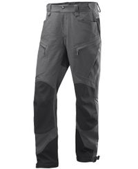 Haglöfs Rugged Mountain Pant - Byxor - Magnetite/True Black