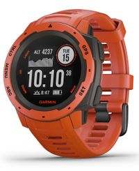 GARMIN Instinct - Klockor - Flame Red (010-02064-02)