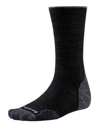 Smartwool PhD Outdoor Light Crew - Strumpor - Charcoal (B01069003)