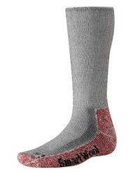 Smartwool Mountaineering Extra Heavy Crew - Strumpor - Charcoal Heather (BSW133010)