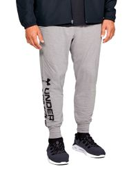 Under Armour Sportstyle Cotton Graphic Jogger - Byxor - Grå