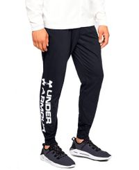 Under Armour Sportstyle Cotton Graphic Jogger - Byxor - Svart