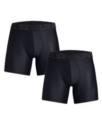 Under Armour Tech 6'' 2 Pack - Boxershorts - Svart (1327415-001)