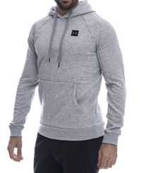 Under Armour Rival Fleece - Huvtröjor - Grå