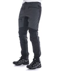 Haglöfs Rugged Flex Pant - Byxor - Magnetite/True Black