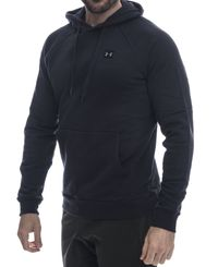 Under Armour Rival Fleece - Huvtröjor - Svart