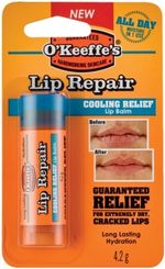 O'Keefe's Lip Repair Cooling - Läppbalsam