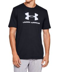 Under Armour Sportsyle Logo - T-shirt - Svart (1329590-001)