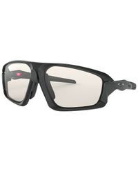 Oakley Field Jacket Matte Black - Sportglasögon - Photochromic
