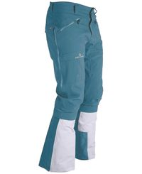 Amundsen Kleiva Split-Pants - Byxor - Faded Blue