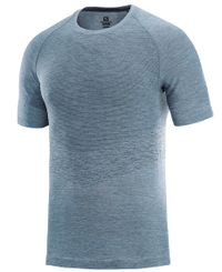 Salomon Allroad Seamless - T-shirt - Flint (LC1118400)