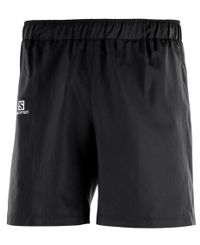 "Salomon Agile 7"" - Shorts - Svart (L40118300)"