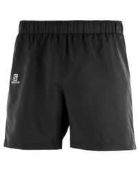 "Salomon Agile 5"" - Shorts - Svart (L40120100)"