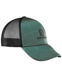 Salomon Summer Logo - Keps - Grön
