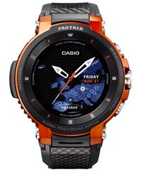 CASIO Pro Trek WSD-F30 - Smart klocka - Orange (WSD-F30-RGBAE)