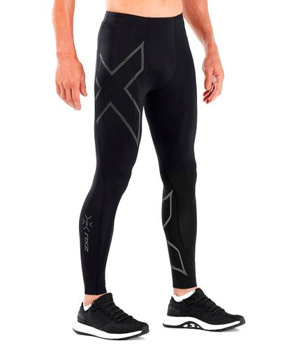 2XU MCS Run Comp - Tights - Black/ Black Reflective (114534)