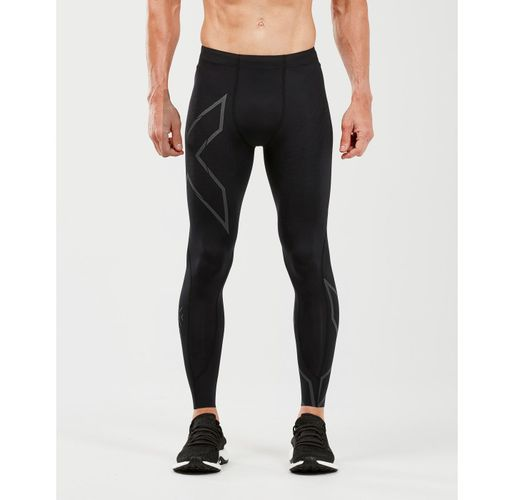 2XU MCS Run Comp - Tights - Black/ Black Reflective (114531)