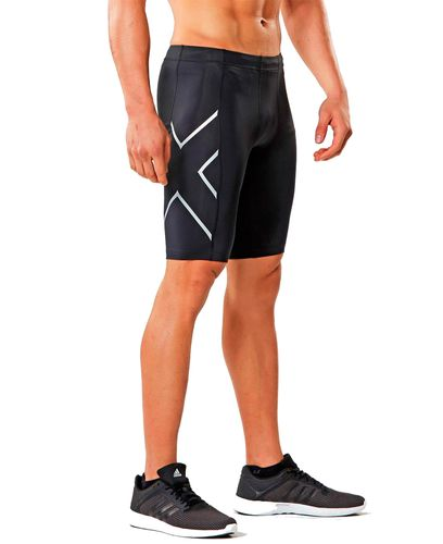 2XU Core Compression - Shorts - Black/ Silver (109236)