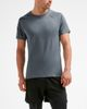 2XU XCTRL - T-shirt - Charcoal/ Black (117916)