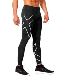 2XU Core Compression - Tights - Black/ Silver (10919)