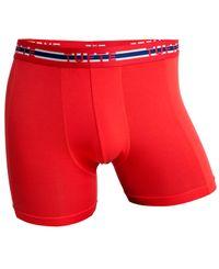 Tufte Wear Nations Boxer Briefs - Boxershorts - Röd