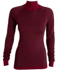 Tufte Wear Bambull Half-Zip Ws - Tröjor - Port Royale (4002-080)