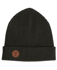Tufte Wear Bambull Blend Beanie - Mössor - Deep Forest (3007-033)