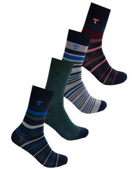 Tufte Wear Party Sock 4pk - Strumpor - 41-46 (3999-999-99-41-46)