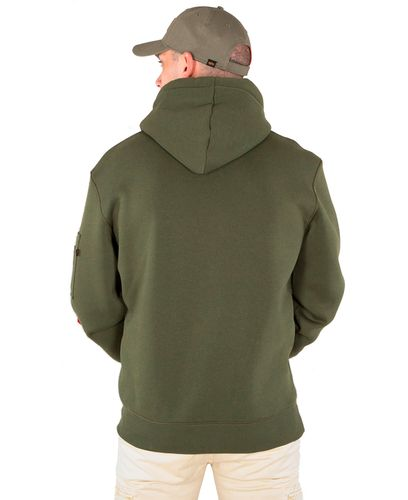 Alpha Industries Army - Huvtröjor - Dark green (193178315-257-M)