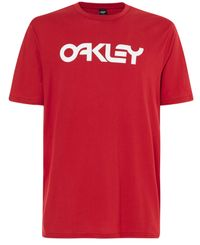 Oakley Mark II - T-shirt - Röd (457133-4A6)