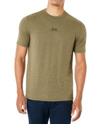 Oakley Bark New SS - T-shirt - Dark brush (457131-88Q)