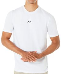 Oakley Bark New SS - T-shirt - Vit (457131-100)