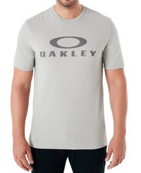 Oakley O Bark - T-shirt - Stone Gray