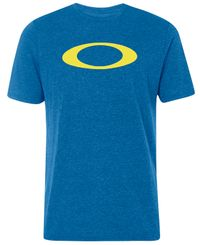 Oakley O-Bold Ellipse - T-shirt - Blå (457132-6DF)