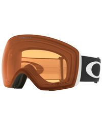 Oakley Flight Deck Matte Black - Goggles - Prizm Snow Persimmon