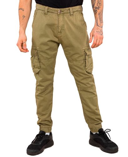 Alpha Industries Army - Byxor - Olivgrön (193196210-11-32)