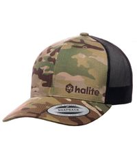 Halite Trucker Green - Keps - Multicam (HLT0074-006)