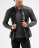 2XU Wind Defence Membrane - Jacka - Charcoal/ Black (MR5959a-M)